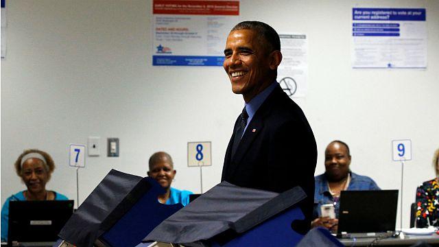 Obama başkanlık seçimleri için oyunu kullandı