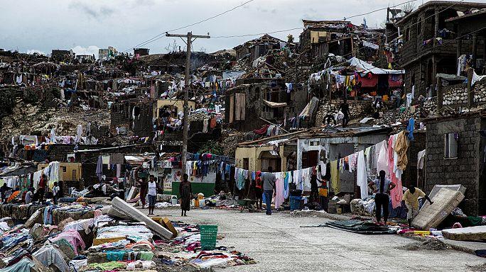 На Гаити началась доставка гуманитарной помощи