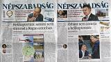 Hungarian opposition daily Népszabadság shut down suddenly