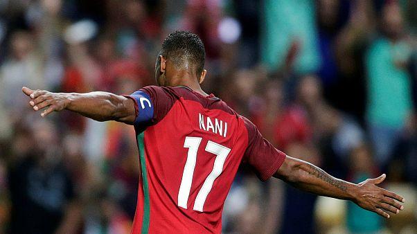 QMundial2018: Portugal vai jogar sem Nani nas Ilhas Faroé