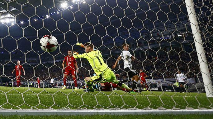 Triunfos de Alemania e Inglaterra en la fase clasificatoria para Rusia 2018