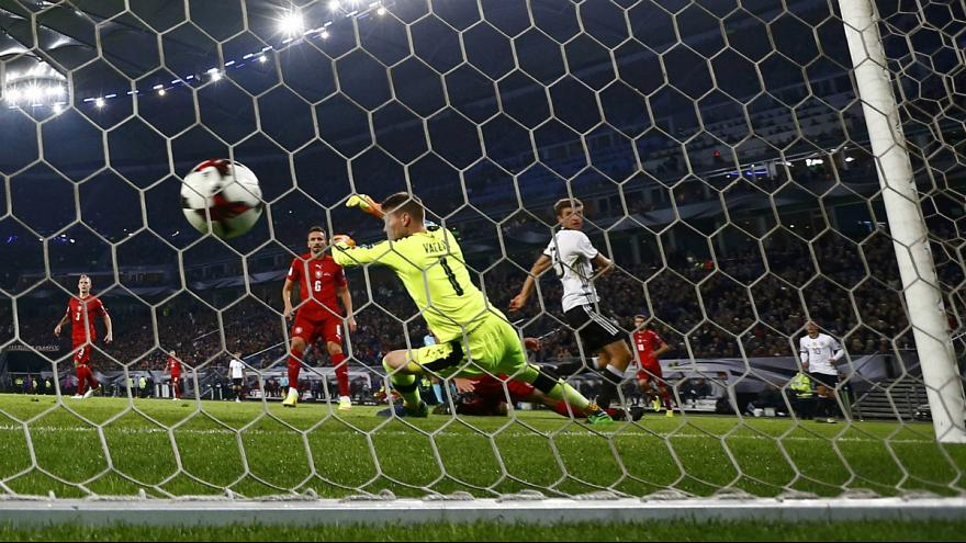 World Champions Germany and England maintain perfect start to World Cup qualifiers