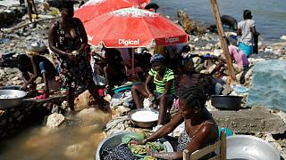Fears of a cholera outbreak in Haiti amid Hurricane Matthew floods