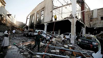 Über 140 Tote bei Luftschlag im Jemen - USA überdenken Unterstützung der saudischen Militärkoalition