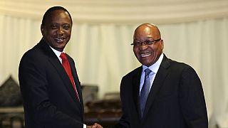 Jacob Zuma en visite historique au Kenya lundi