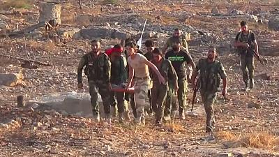 Syrische Regierungstruppen setzen Offensive in Aleppo fort