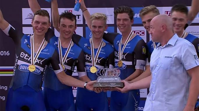 Etixx-QuickStep win third World Team Time Trial title
