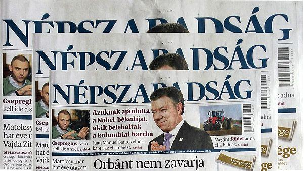 Macaristan'da muhalif gazetenin kapatılması 'siyasi'