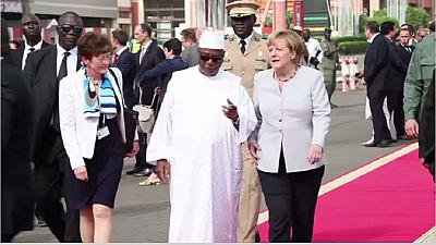 Angela Merkel in Mali