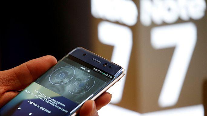 Felfüggesztette a Galaxy Note 7 okostelefon gyártását a Samsung