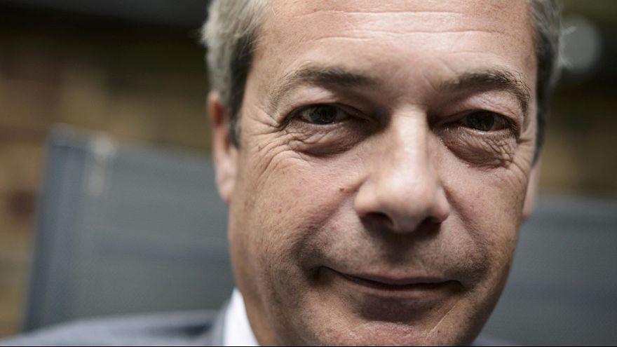 """Farage shoulders """"Mr. Brexit"""" after US debate"""