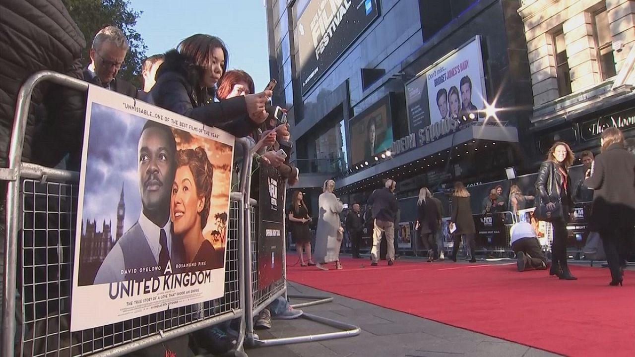 """فيلم""""المملكة المتحدة""""، قصة حب في زمن العنصرية تفتتح مهرجان لندن السينمائي"""