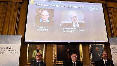 Oliver Hart and Bengt Holmström win The Sveriges Riksbank Prize in Economic Sciences in Memory of Alfred Nobel