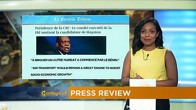 Press Review of October 10, 2016 [The Morning Call]
