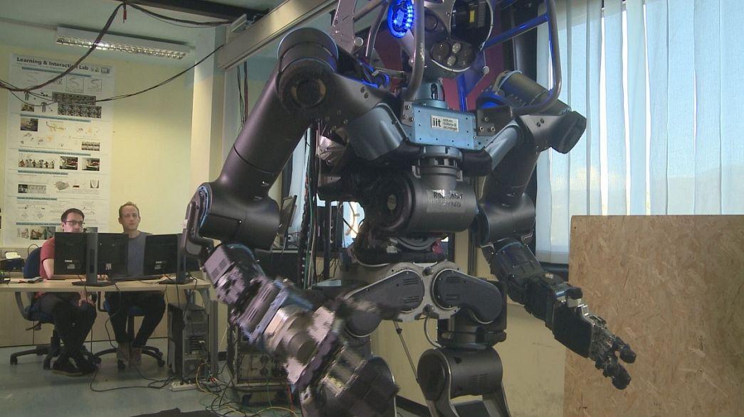 Walk-Man, el humanoide del futuro