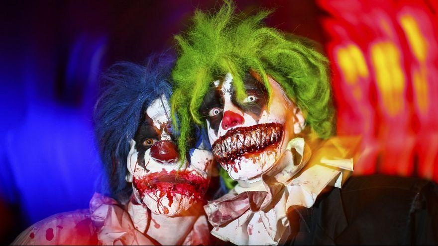 Злые клоуны: теперь и в Великобритании