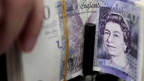 El sector de los servicios británico registra su menor nivel de confianza en cuatro años