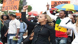 Des juifs Éthiopiens rejoignent leurs familles en Israël