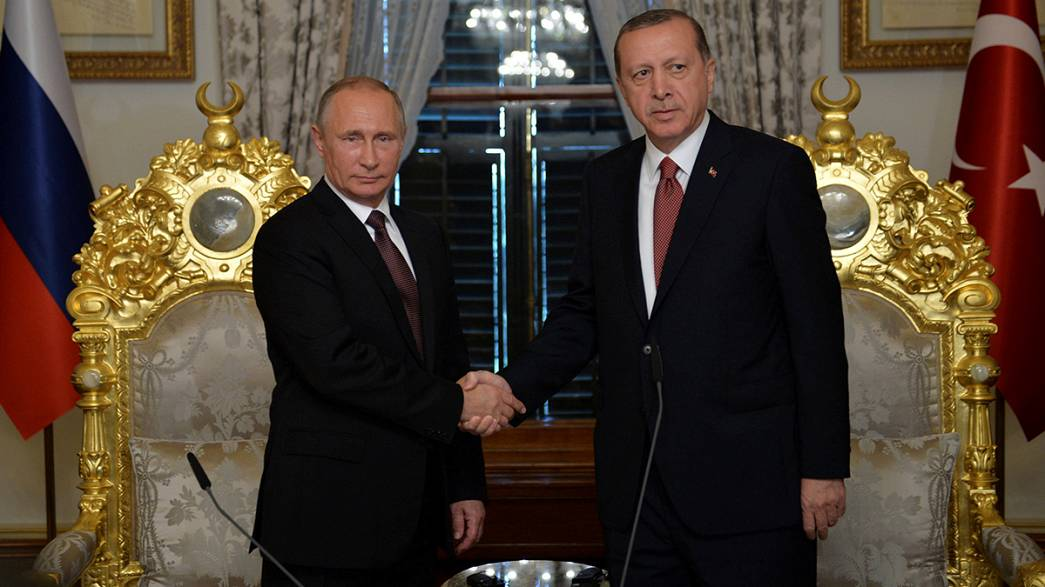 The rocky relations of Russia and Turkey