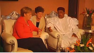 Niger: Merkel and Issoufou discuss security and development in Niamey