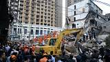 Building collapse in eastern China leaves many dead
