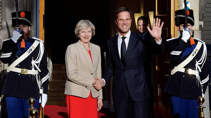 The Brief in Brussels: UK's May holds talks ahead of Brexit trigger
