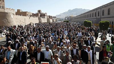 Saudi Arabia regrets funeral attack but stops short of admitting responsibility