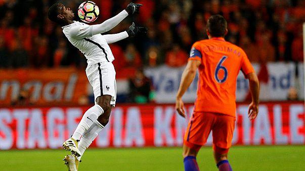 تصفيات كأس العالم: فرنسا تعود من هولندا بهدف ثمين