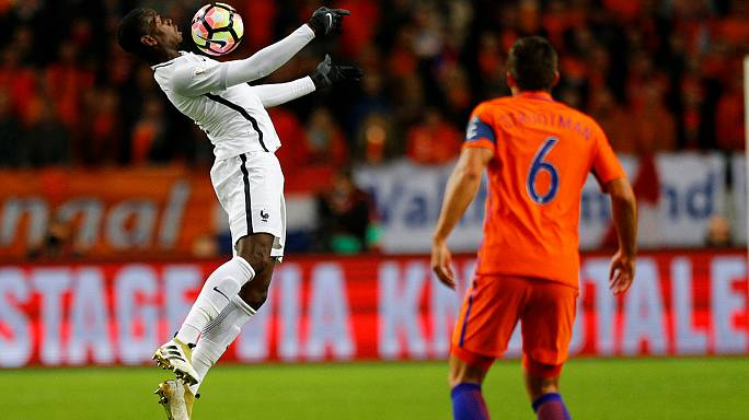 2016 World Cup qualifiers - Wins for France, Belgium and Switzerland
