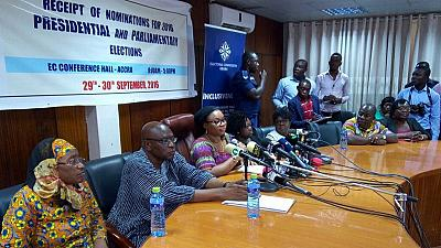 13 aspirants kicked out from Ghana's presidential election race