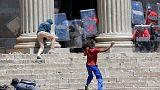 Összecsapások a dél-afrikai tandíjellenes tüntetéseken