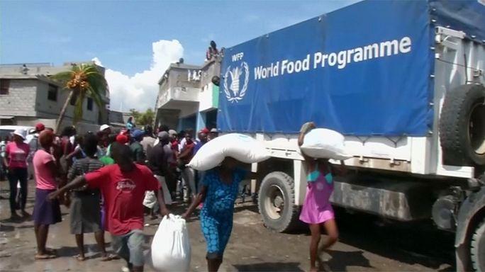 Éhínség fenyeget a hurrikán sújtotta Haitin