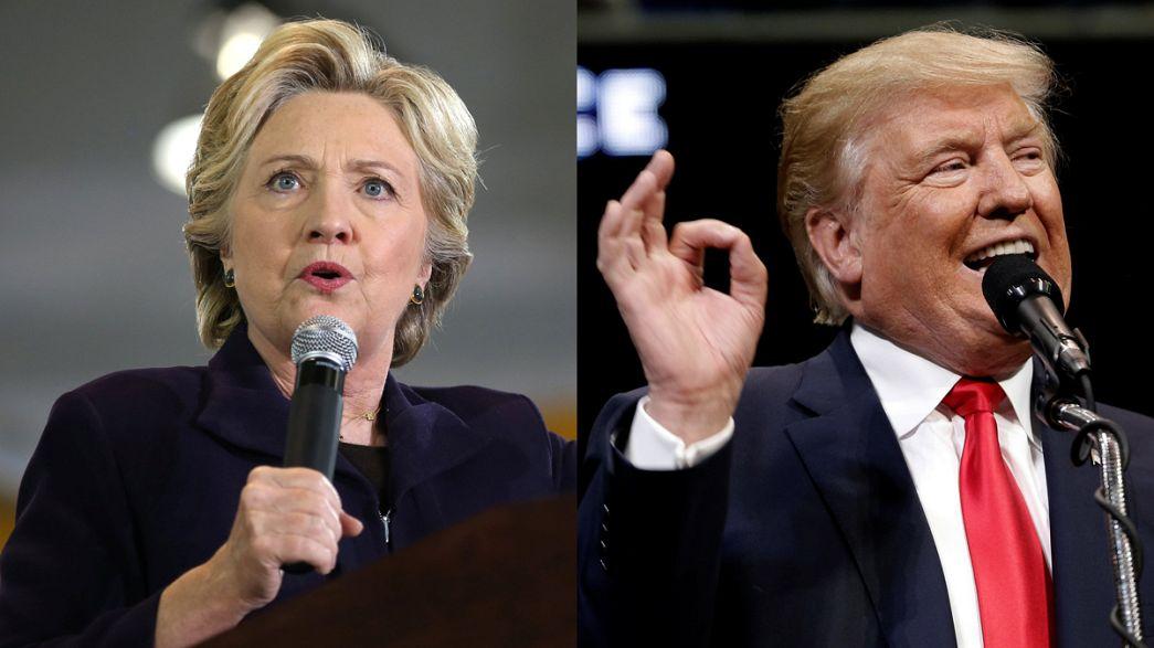 Etats-Unis : Clinton sur un nuage, Trump désavoué
