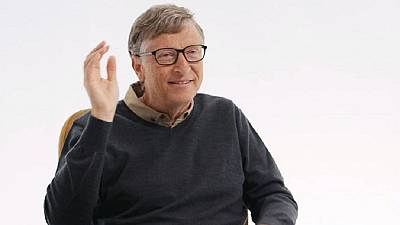 Bill Gates celebrates successes in fight against Malaria in sub Saharan Africa