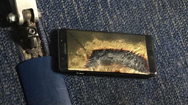 Samsung Electronics suspend la production de son Galaxy Note 7