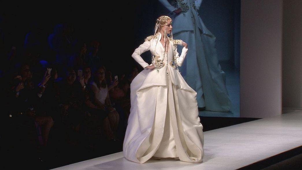 Alla corte dell'Arab Fashion Week