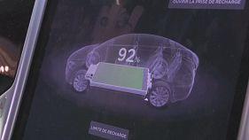 Los coches eléctricos, estrellas del Salón del Automóvil de París