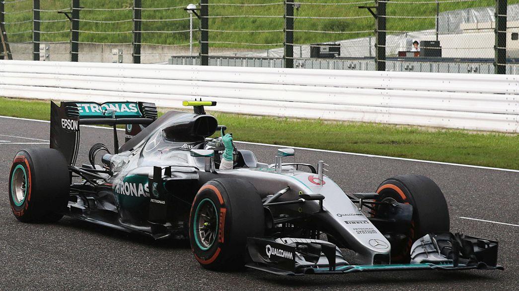 """Mercedes abre o champanhe pelo """"tri"""" de Construtores na Fórmula 1"""