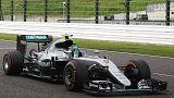 Mercedes celebra el Mundial de constructores
