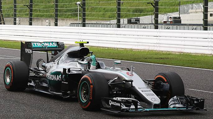 Mercedes celebrate third constructor's title in a row