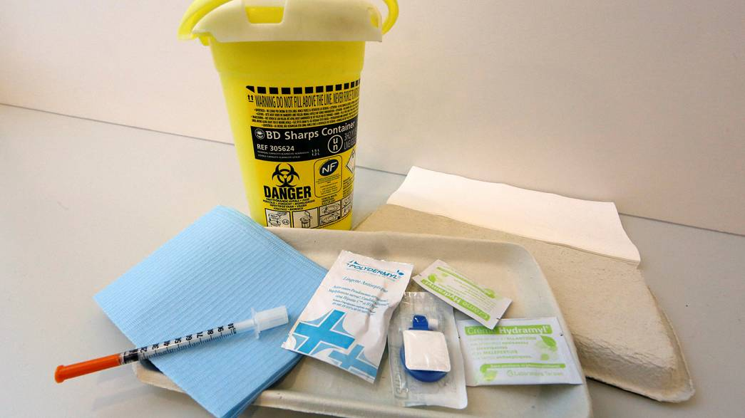 France opens first supervised injection facility for drug addicts