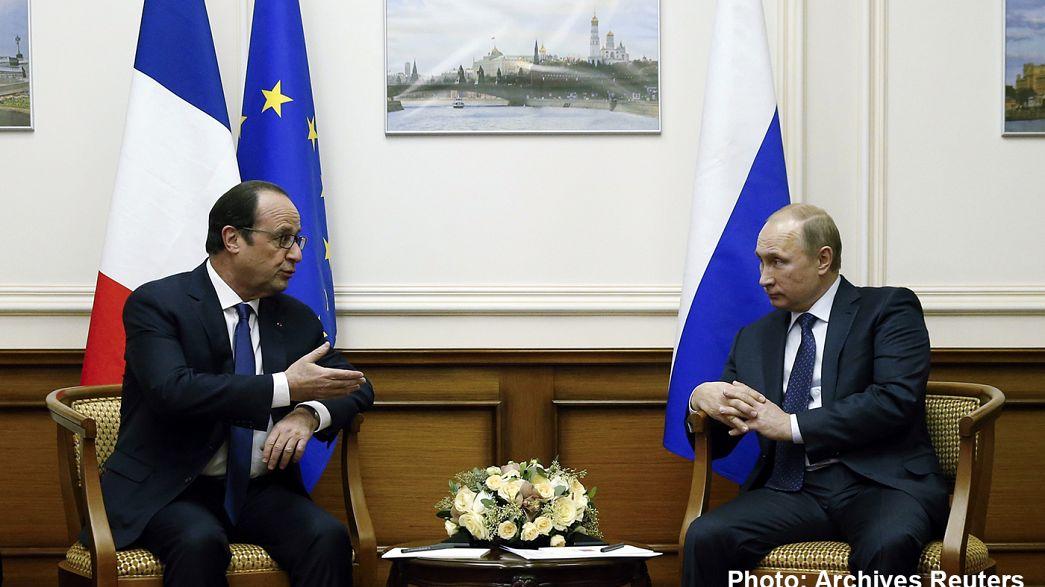 La France pourfendeuse de la politique russe en Syrie