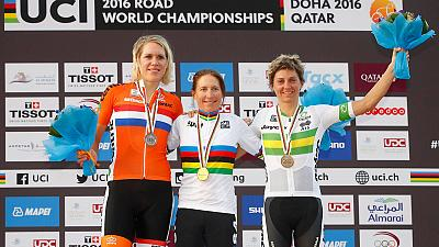 Amber Neben wins second UCI Women's Time Trial title
