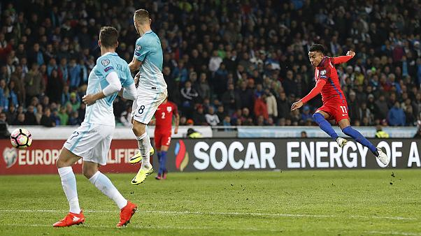 England lose 100% record after goalless draw with Slovenia in World Cup qualifiers