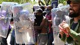 Folytatódtak a tandíjellenes tüntetések Dél-Afrikában