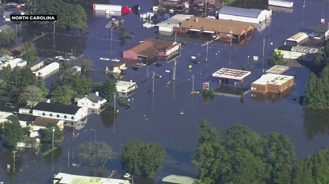 Usa. Sale ad almeno 33 morti il bilancio del passaggio dell'uragano Metthew