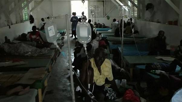 Cholera emergency hits Haiti