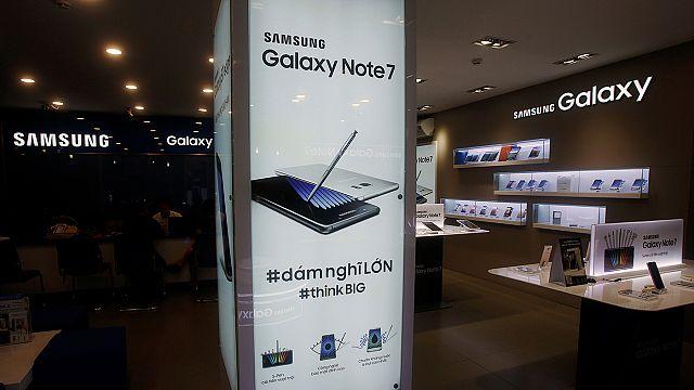 Samsung revisa a la baja ingresos y beneficios por el abandono del Galaxy Note 7