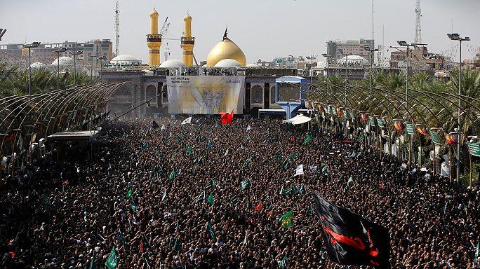 Los chiíes de todo el mundo conmemoran la Ashura bajo fuertes medidas de seguridad