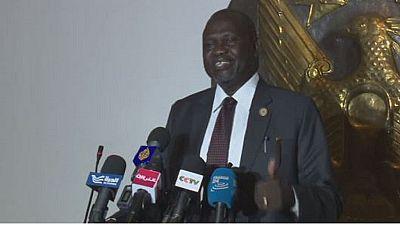 """Soudan du sud: Riek Machar en Afrique du sud pour des """" examens médicaux"""""""